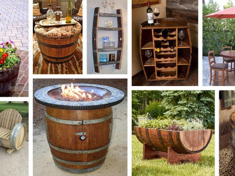 Wine Barrels, Empty Wine Barrels For Sale